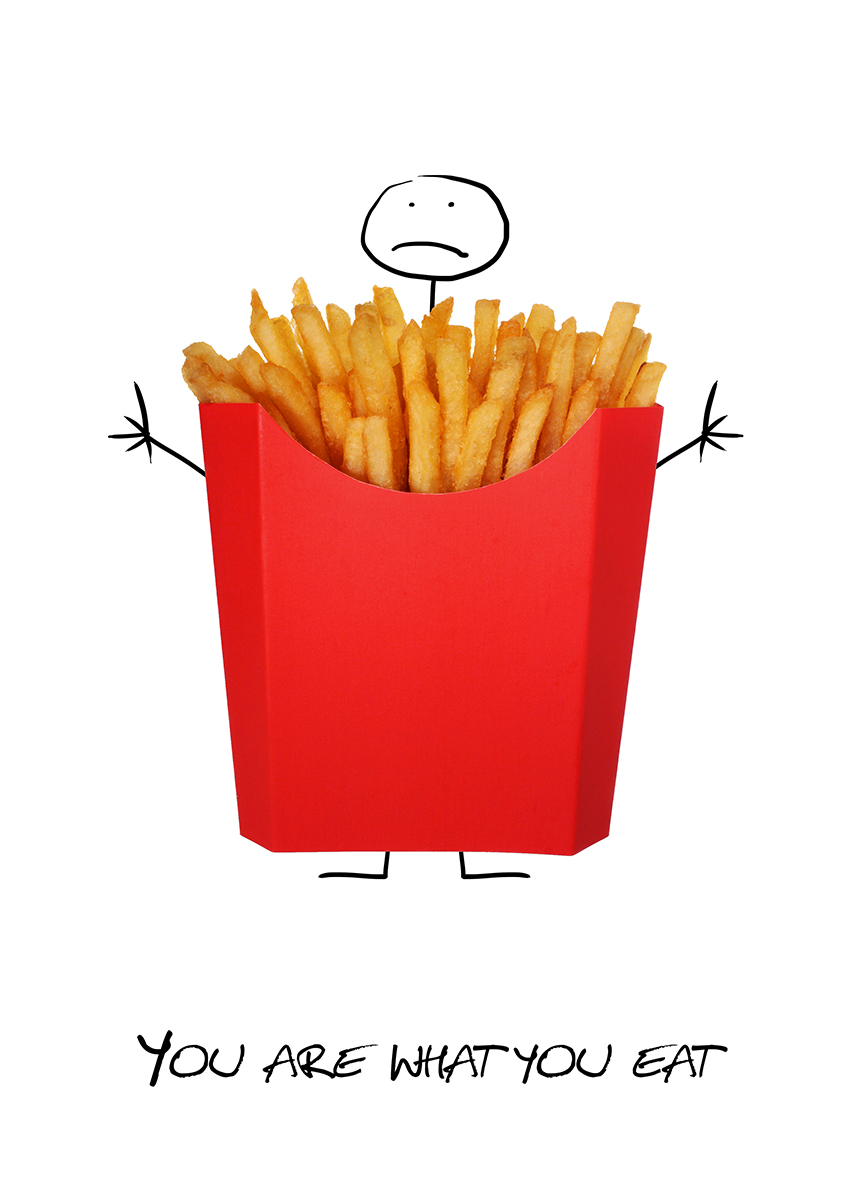 french fries boy