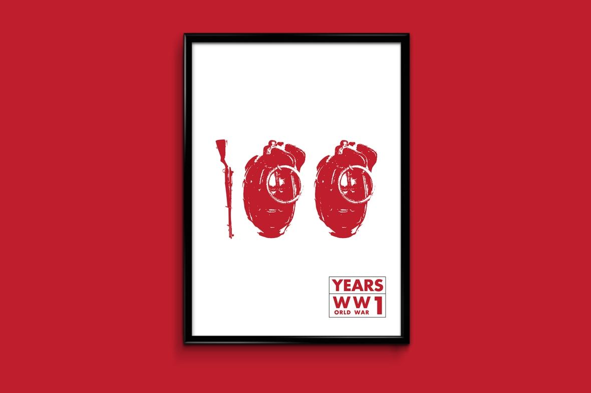 100 years WW1