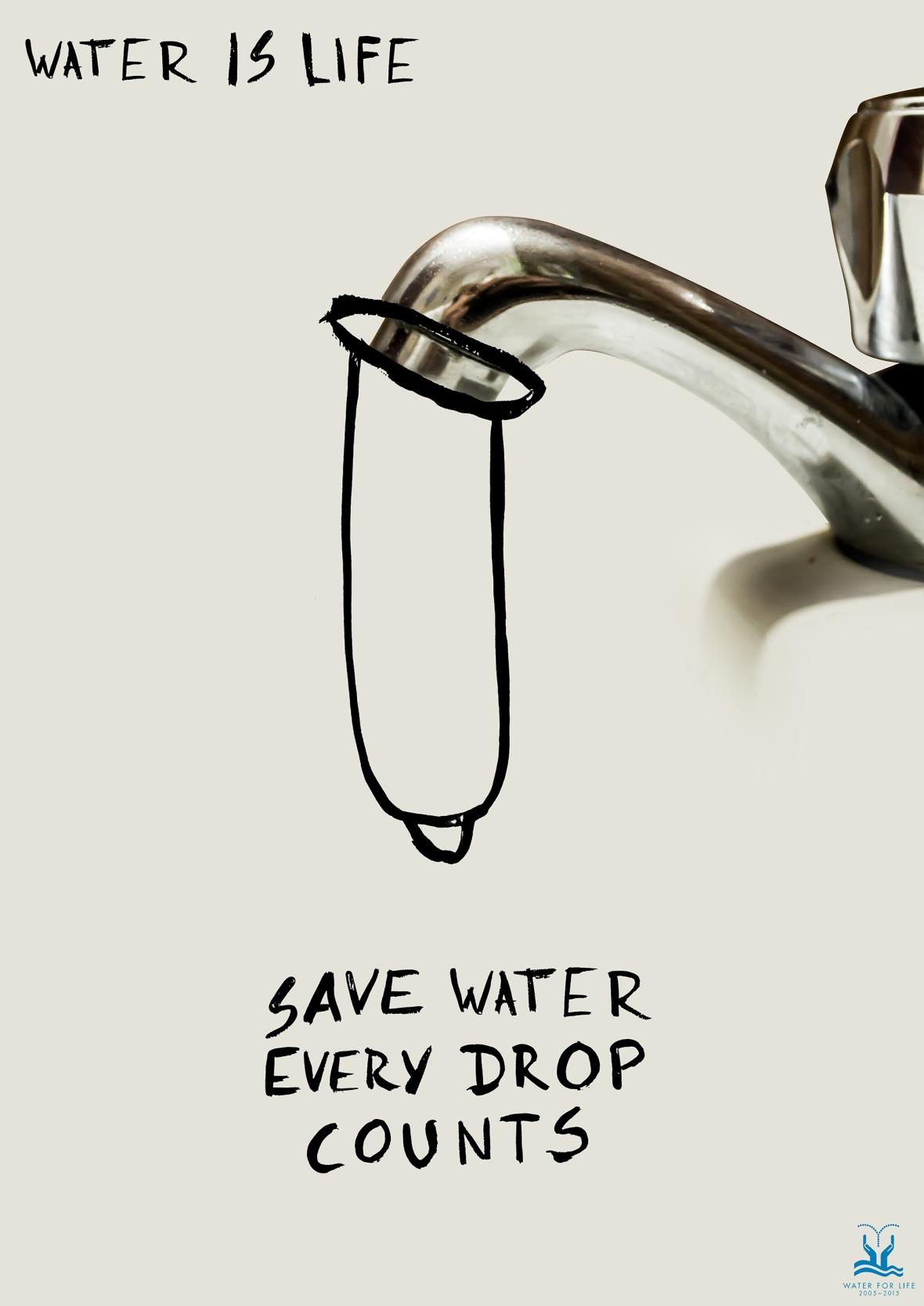 Condom water - Santiago Gómez